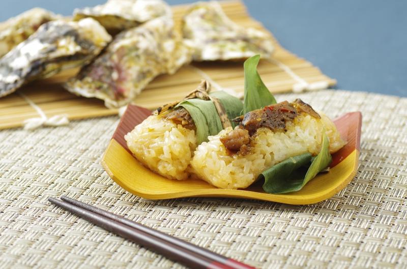 お食事|かき炙り笹めし(2個)の画像